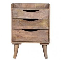 Industrial Bedside Table - Normandy Milan Direct