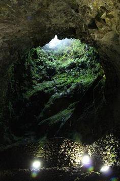 Terceira, Portugal: algar do carvão