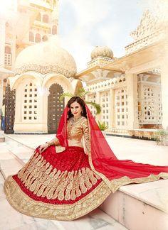 Buy Masterly Net Patch Border Work Lehenga Choli, Online #ethnic #indianethnic #indianethnicwear #indianwedding #bridalwear #indianoutfit #indianfashion #lehenga