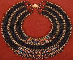 broad collar Egyptian style