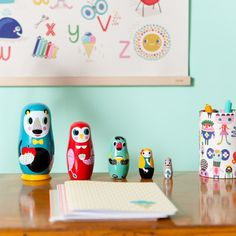 Nesting Dolls from Smitten for the Wee Generation