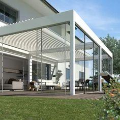 Pergola Patio, Backyard Patio, Gazebo, Rooftop Terrace Design, Patio Design, Modern Outdoor Kitchen, Outdoor Living, Patio Shade Covers, Covered Back Patio
