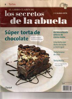 Los secretos de la abuela2 Revista de Tortas Blanca Cotta