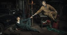 These Portraits of Auto Mechanics are a Homage to Renaissance Paintings by Photographer Freddy Fabris #photography #inspiration #renaissance