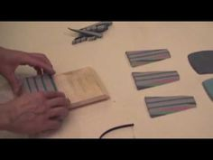 Pottery Video: How to Create Intricate Colored Clay Patterns for Slab Building - YouTube