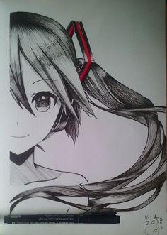 Anime Art Girl, Manga Girl, Manga Anime, Art Drawings Sketches, Pencil Drawings, Art Simple, Poses References, Estilo Anime, Anime Kunst