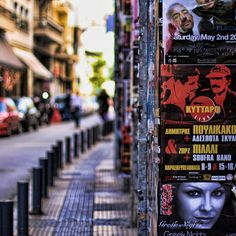 Concert Posters in Athens
