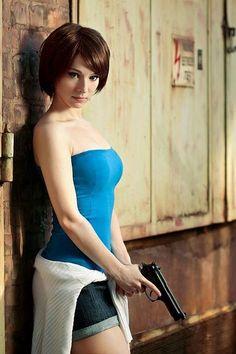 Jill Valentine (Resident Evil) ~ Cos Play