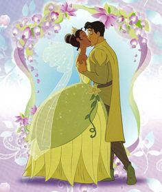 *TIANA & PRINCE NAVEEN / THE FROG ~ The Princess and the Frog, 2009