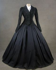 Ladies Victorian Day Costume Gothic Dress Up Games Alternative Measures -  Brides   Bridesmaids - Wedding 3fafbdbbe215