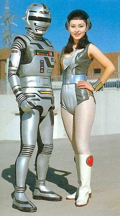 Space Sheriff Gavan and his partner.