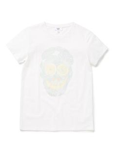 Teen Boys Tops & Tees   Fruit Skull Print Tee   Seed Heritage