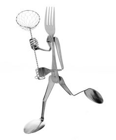 Take a look at this Fork Lacrosse Sculpture by Forked Up Art on #zulily today!