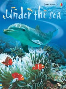 Usborne Books & More. Under the Sea (Level 1) - IR. What lives at the bottom of the sea? What does a shark really eat? How does a sea horse swim? In this book you'll find the answers and lots more about the fascinating things which live under the sea. Crazy4Usborne.com