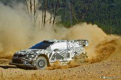 Test VW Motorsport | Jari-Matti Latvala | POLO WRC 2017| Arganil