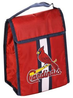 Amazon.com: MLB St. Louis Cardinals Velcro Lunch Bag: Sports & Outdoors