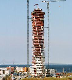 Turning Torso, Malmö, Sweden, 2005 / Santiago Calatrava
