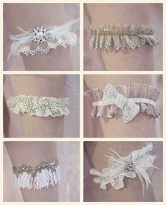 Crystal Garter Set Vintage Wedding By Theraggeddiamond Rhinestone Garters Pinterest Weddings And