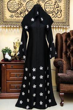 Niqab Fashion, Muslim Fashion, Modest Fashion, Fashion Dresses, Dress Outfits, Burqa Designs, Abaya Designs, Mode Abaya, Mode Hijab