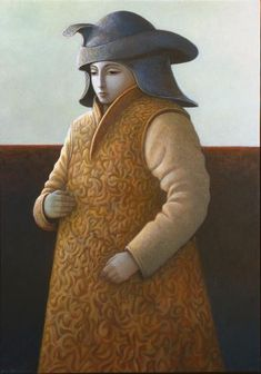 'Toward the Forbidden City' oils on linen, 2008, painted by George Underwood - exhibited at The Portal Gallery