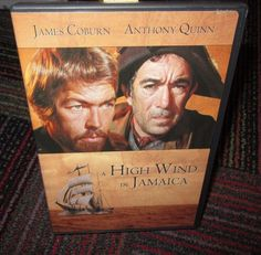 A HIGH WIND IN JAMAICA DVD MOVIE, JAMES COBURN, ANTHONY QUINN, GUC