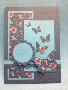 MOJO242 Friendly Phrases Twitterpated by laura513 - Cards and Paper Crafts at Splitcoaststampers, beautiful wings
