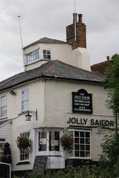 Jolly Sailor pub, Essex, England