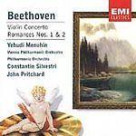 Beethoven: Violin Concerto / Romances No. 1 & 2 Yehudi Menuhin New Audio CD #ConcertoRomance