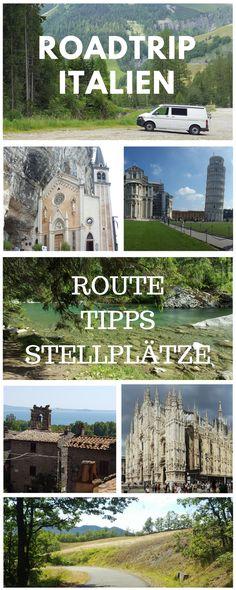 Roadtrip, baby! - mit dem VW-Bus durch Italien. Hier findest du meine Route, Tipps und natürlich auch Stellplatz-Empfehlungen.
