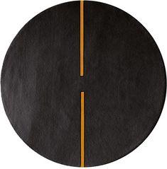 modernrugs.com light sonic modern round rug