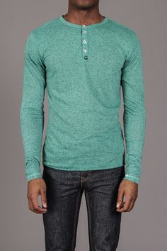 Colorful Henley Shirt