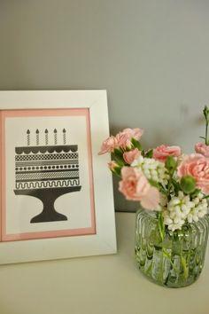 DecoDreamer's Diary: birthday, synttärit, syntymäpäivät, first birthday, ensimmäiset synttärit, party, kids, juhlat, lapset, pinkki, pink, flowers, kukat