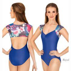 LULLI リュリ フローラルプリント・メッシュ・ショートスリーブ・レオタード LUF423  #レオタード #バレエ #リュリ #LulliDancewear #ballet #leotard #balletskirt