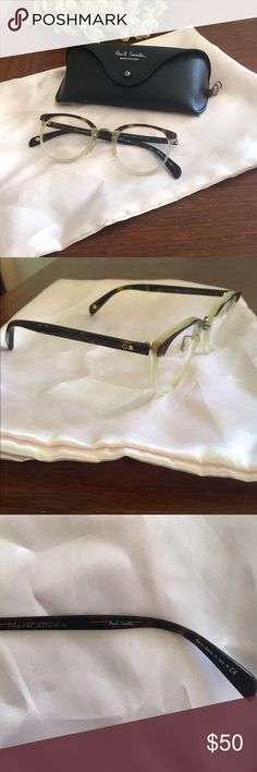 Paul Smith optical frames Cute used frames with prescription. Need TLC. Frame is a bit wobbly, need to be realigned. Some scratching on glass, but shouldn't be a problem if you're planning to add your own prescription. Paul Smith Accessories Glasses