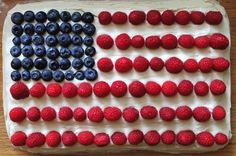 Branch Basics | July 4th Flag Cake