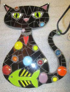 Mosaic Madness by Jill Kernodle Mosaic Diy, Mosaic Garden, Mosaic Crafts, Mosaic Projects, Mosaic Wall, Mosaic Glass, Mosaic Tiles, Glass Art, Art Projects