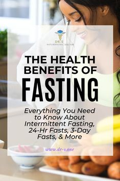 The Health Benefits of Fasting: Everything You Need to Know About Intermittent Fasting, 24 Hour Fasts, 3 Day Fasts, & Health And Wellness, Health Tips, Wellness Tips, Mental Health, Natural Detox Water, 24 Hour Fast, Detoxify Your Body, Detox Program, Alternative Health