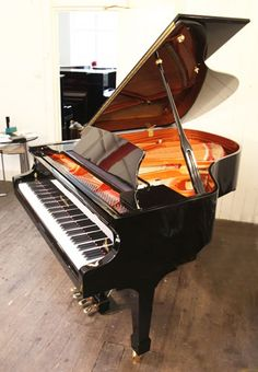 A Wendl and Lung Model 178 grand piano with a black case and polyester finish. Piano features a 4th harmonique pedal  at Besbrode Pianos £11,000