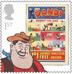British Comics - The Dandy: Desperate Dan is the world's strongest man and can lift a cow with one hand