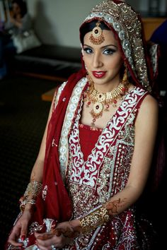 beautiful bridal dress  #pakistaniwedding, #southasianwedding, #shaadibazaar