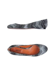 I found this great MISSONI Ballet flats for $315 on yoox.com. Click on the image above to get a code for Free Standard Shipping on your next order. #yoox