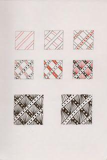 Riveting zentangle pattern by Amy Broady
