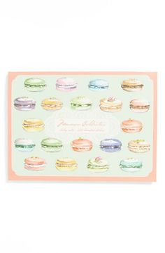 Tasty macaron sticky notes :)