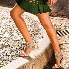 Vicenza coleção Summer 2015 #sapato #shoes #sandalia #franjas #blue #green #phyton