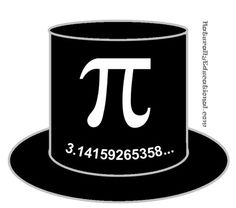 Super-simple Pi Day Magic Hat printable. Measure head circumference and more ideas for Pi Day!