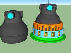 Giroptic 360Cam SNAP Mount - All parts 3d printed