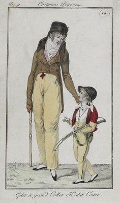 Men's and boy's ensembles for court, 1801.