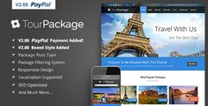 Tour Package v2.06 - Wordpress Travel and Tour Theme