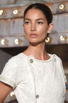 """thefashionellite: """" Lily Aldridge at CHANEL Dinner Celebrating N°5 THE FILM by Baz Luhrmann in New York City """""""