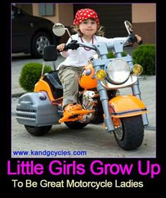 Raise em up right!  #motorcycle #girls